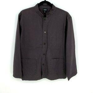 Eileen Fisher Button Down Pocket Shirt Jacket